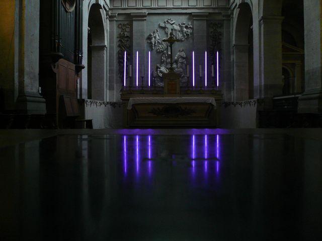 Installation pour l'avent (déc. 2012, Ste Marguerite, Paris)