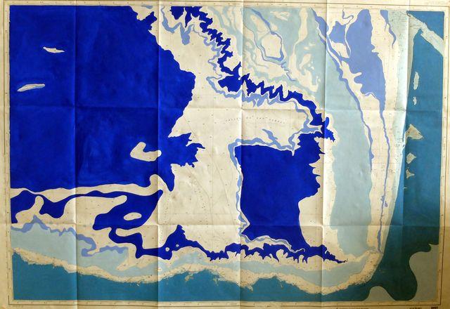 carte papier #2 (Golf de Gascogne)
